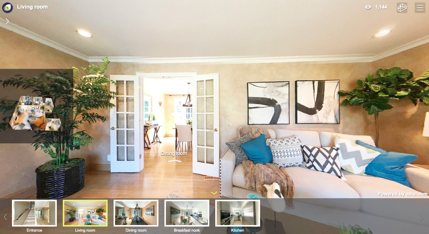 New app Asteroom makes creating 3D home tours easier and cheaper