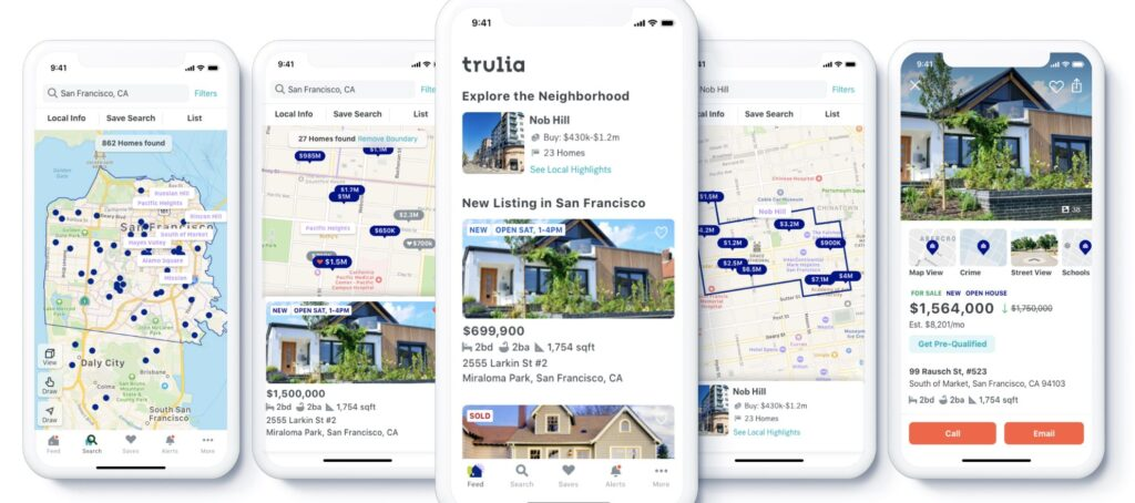 Trulia unveils major redesign and new logo