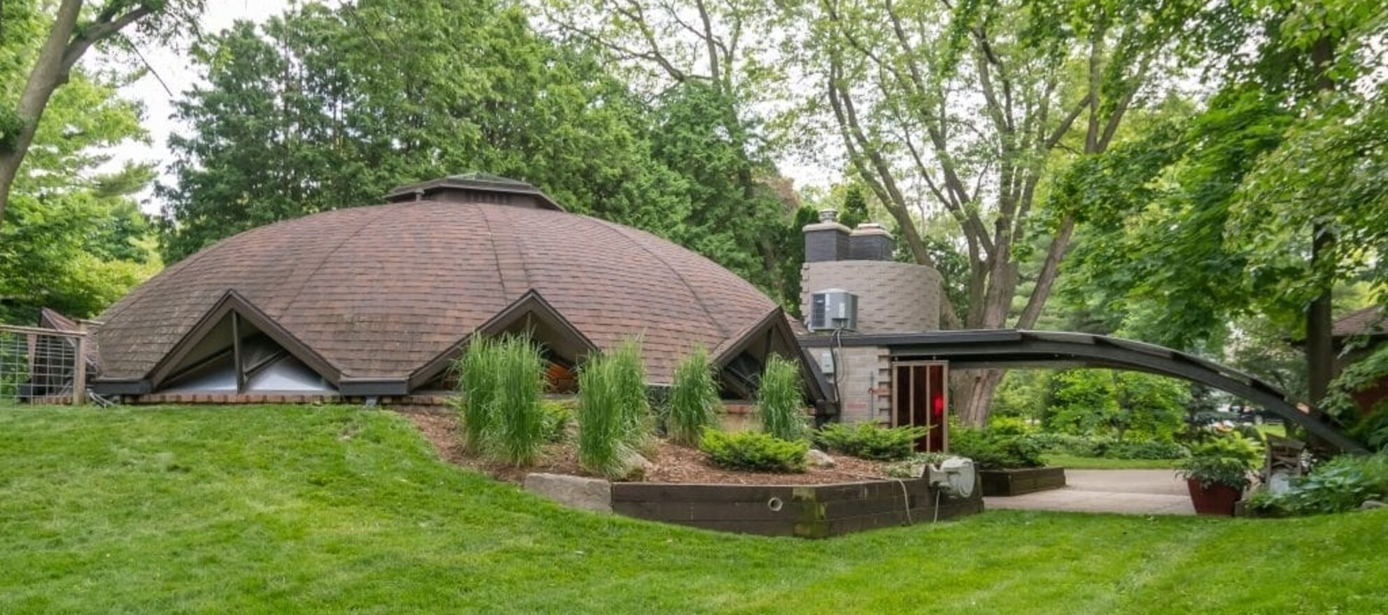 Mushroom house by Frank Lloyd Wright's apprentice is on sale for $449K