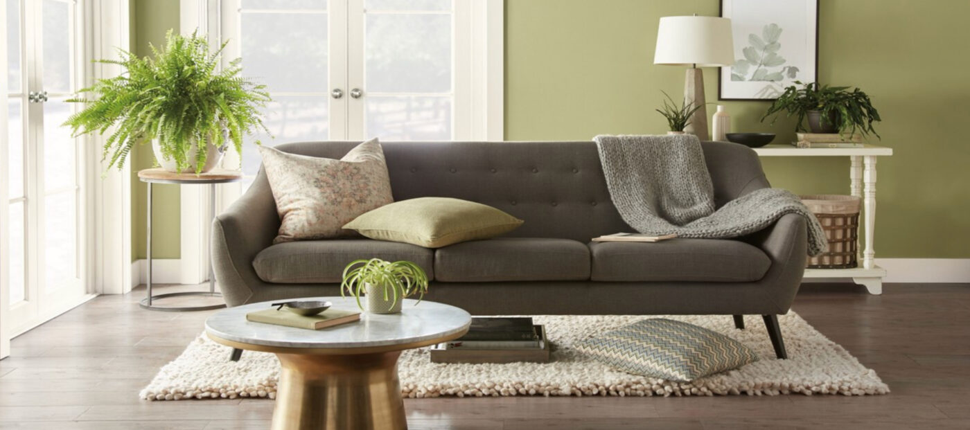 Nature-inspired green is Behr's color of the year