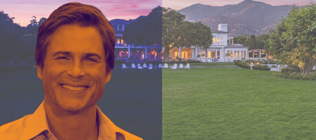 Actor Rob Lowe slashes price of California mansion to $42.5M