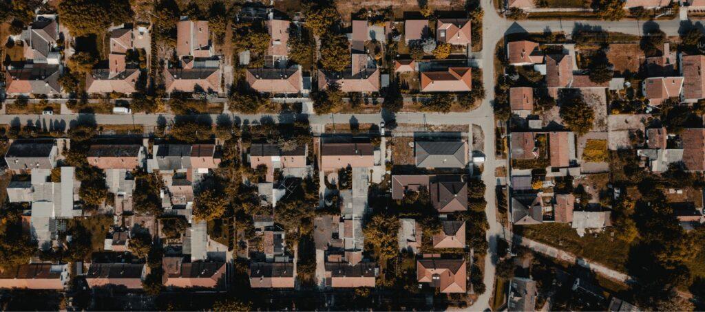 Homes, houses, suburb