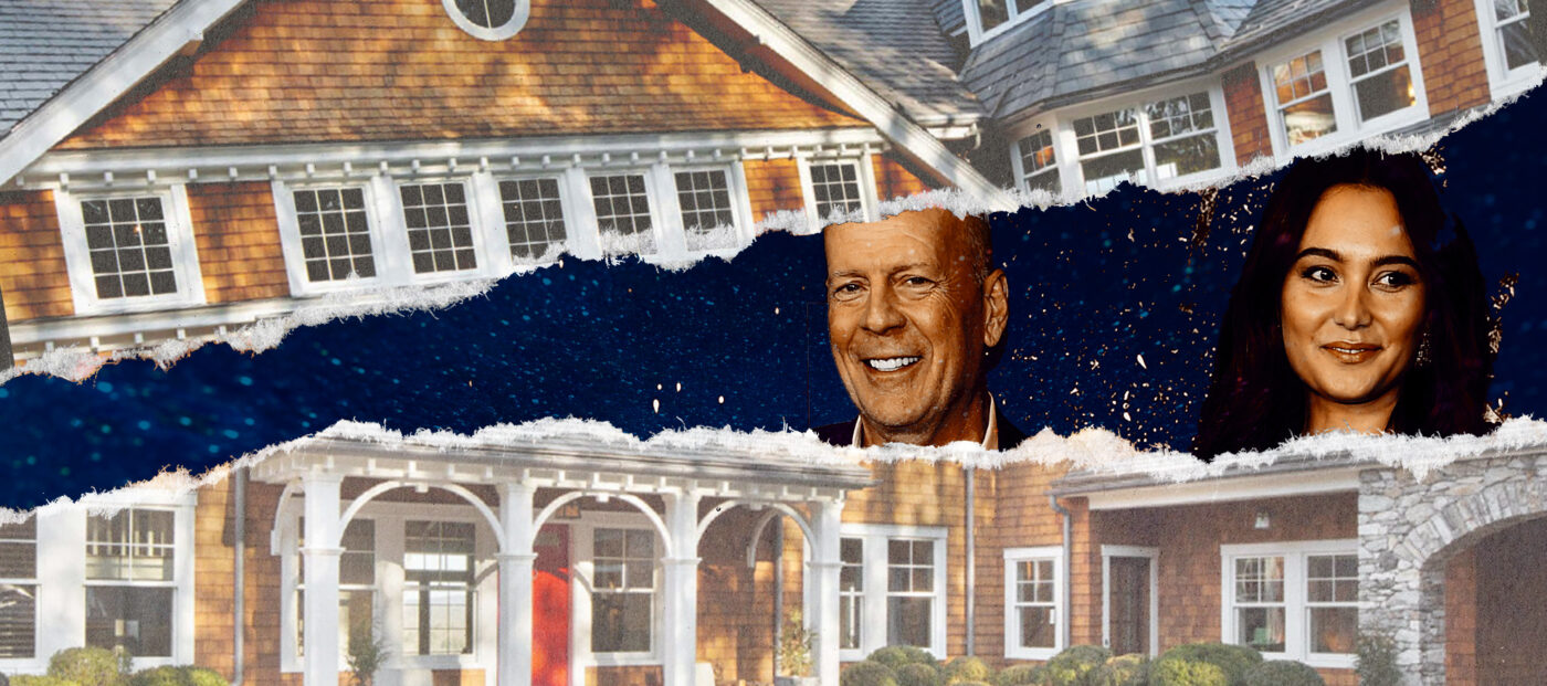 Bruce Willis slashes price on New York estate that includes 4 homes