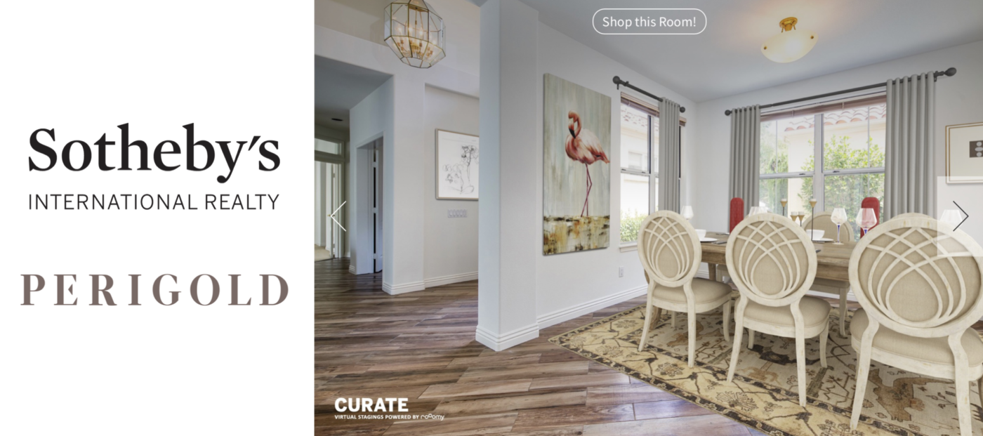Sotheby's adds new exclusive, luxury decor to virtual staging app