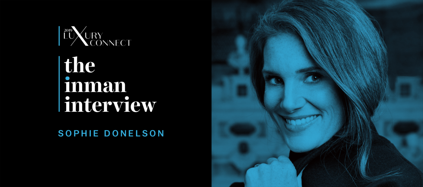Sophie Donelson on how agents can help clients 'live the good life'