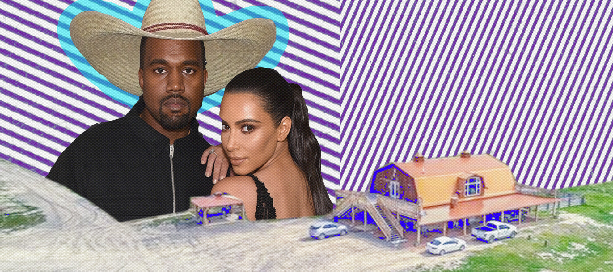 Kanye West and Kim Kardashian buy $14M Wyoming ranch