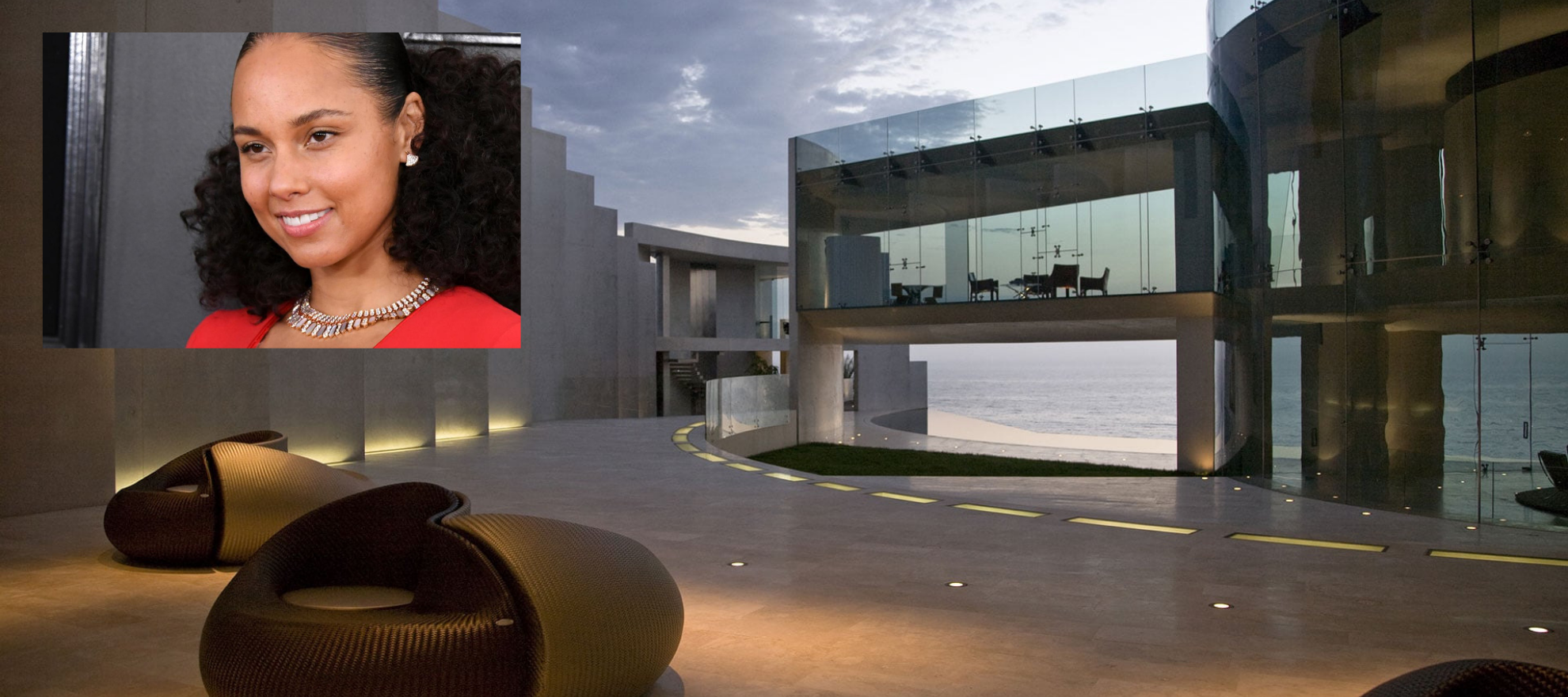 Alicia Keys is the mystery buyer of that stunning 'Iron Man' house