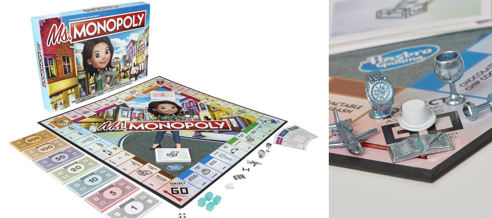Monopoly's new game: Collecting inventions from women, not real estate