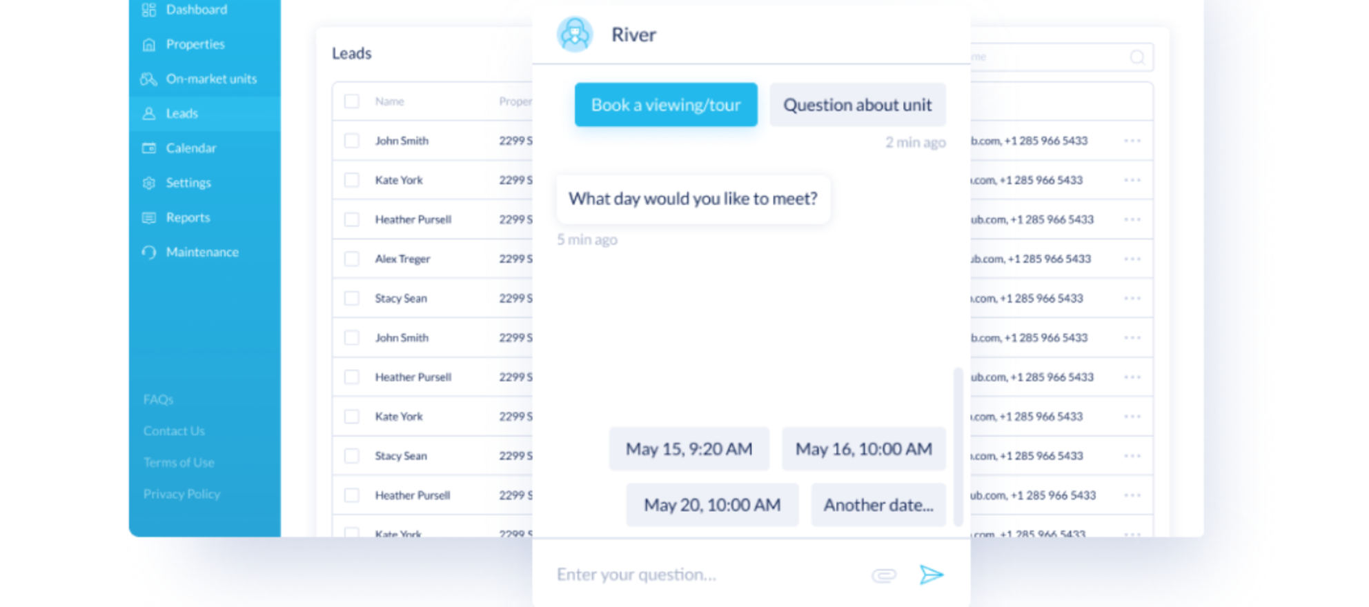 Startup makes AI-powered chatbot for property managers