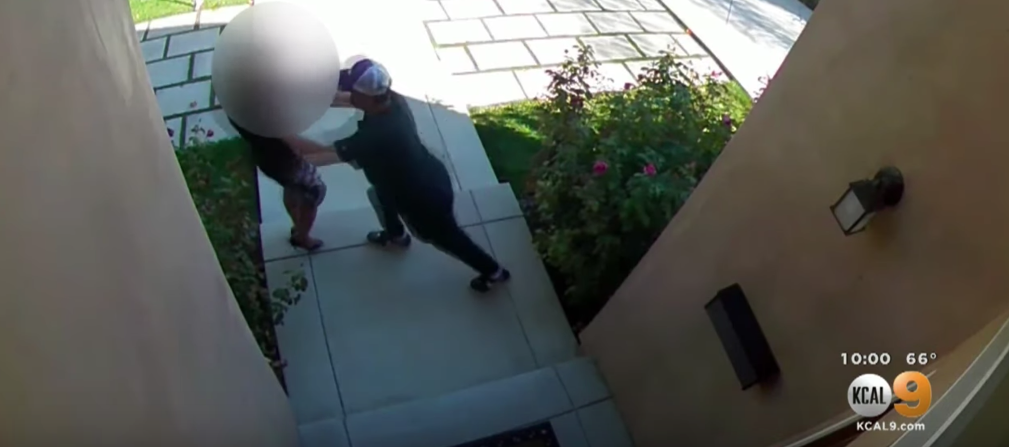 Surveillance footage shows agent viciously attacked at open house