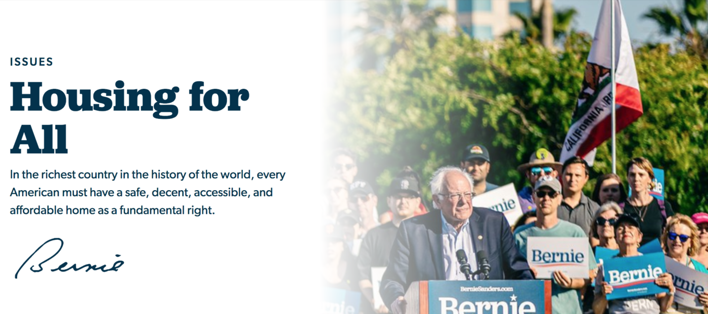 'They're screwed': iBuyers would suffer under Bernie Sanders' housing plan