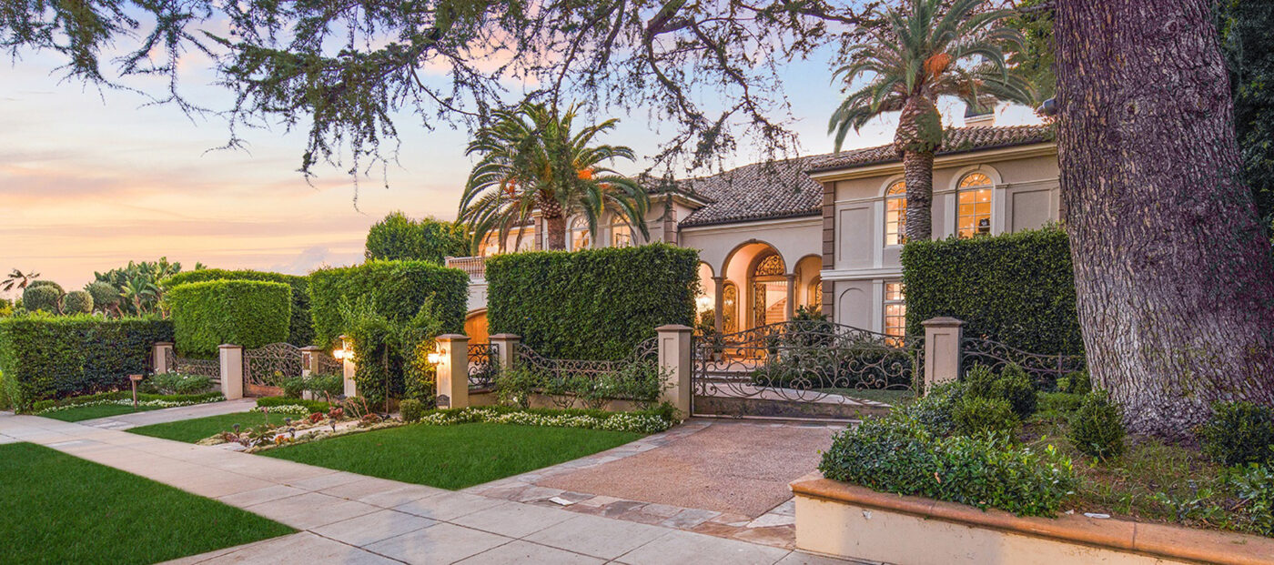 Larry King lists opulent Beverly Hills mansion for $17M