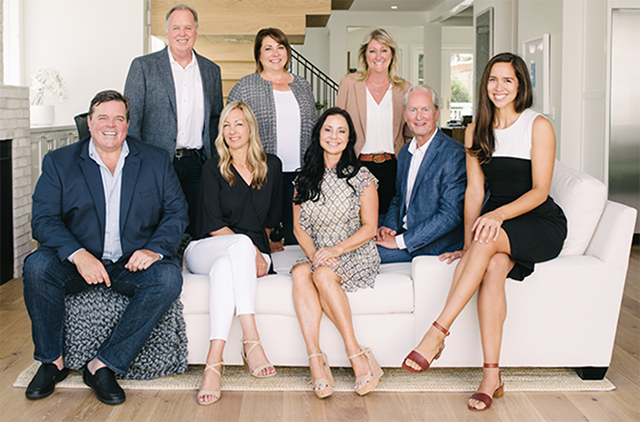 Bayside Real Estate Partners, led by Robb Stroyke (far left) and Bryn Stroyke