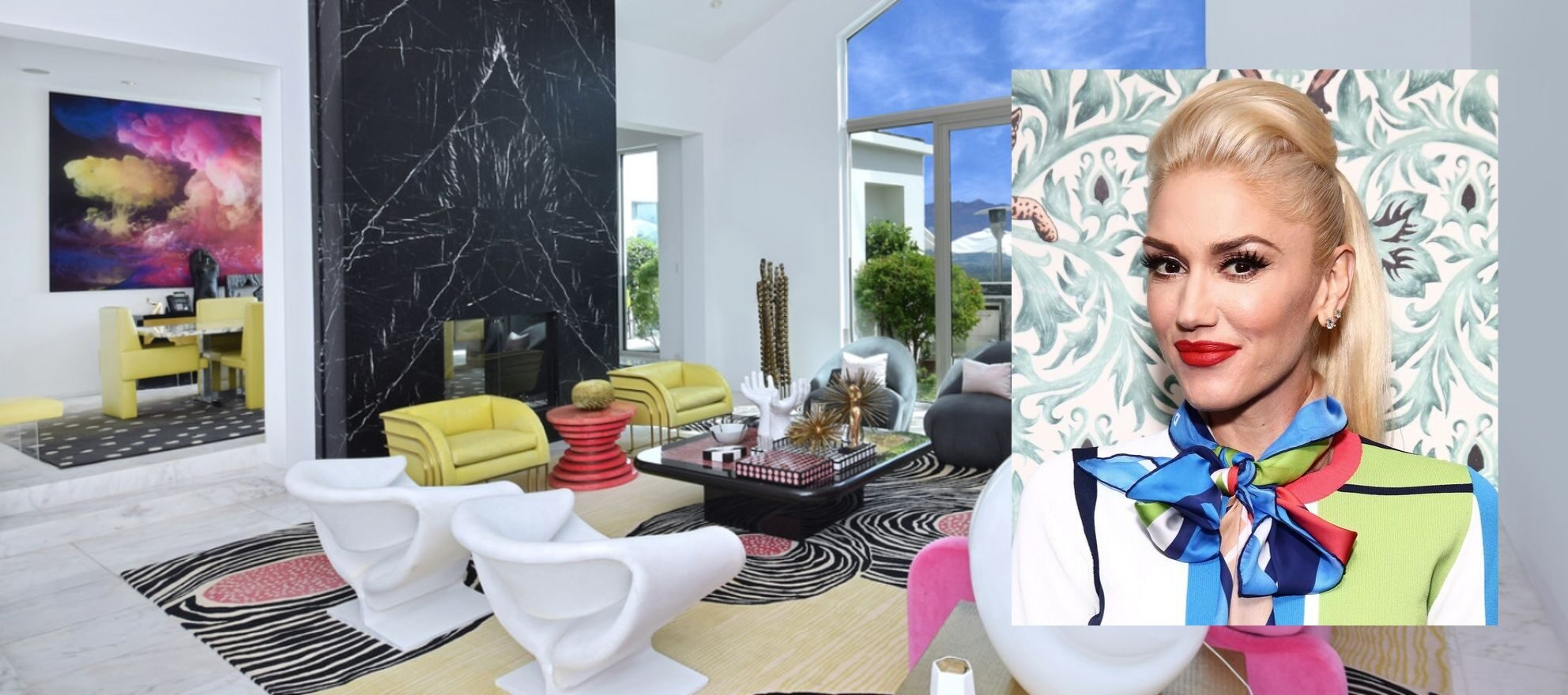 Gwen Stefani sells gloriously artsy Beverly Hills mansion for $21.65M