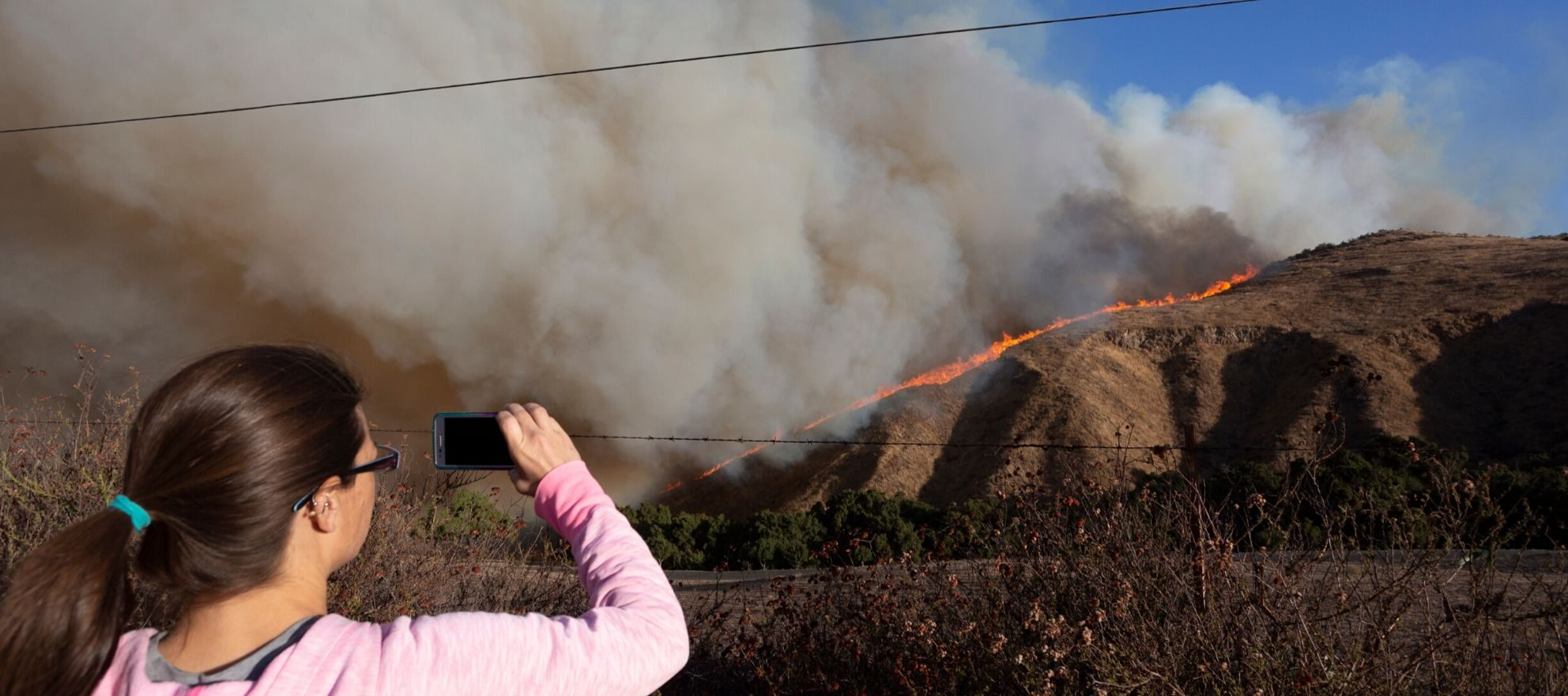 Nearly 1,000 California homes at risk with latest string of wildfires