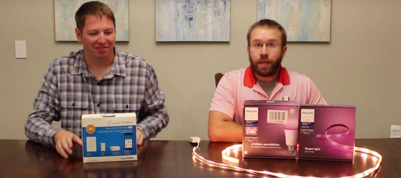 Smart-home tech for agents: Lutron smart dimmers vs. Philips Hue lighting system