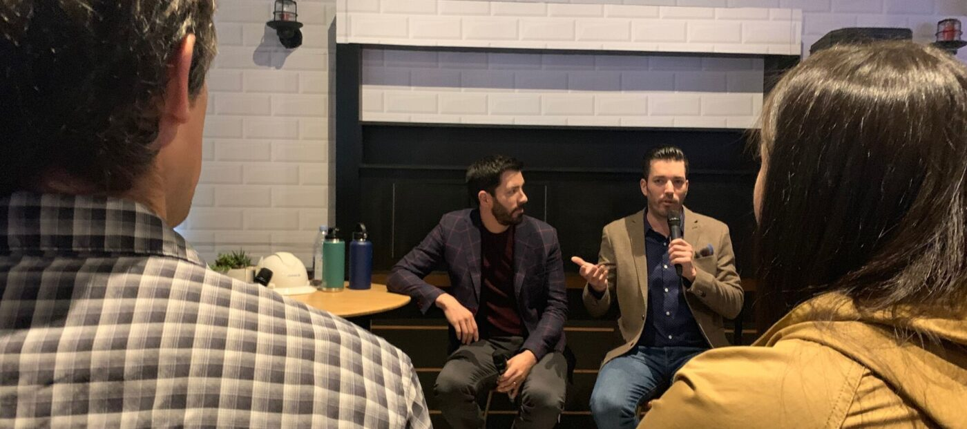 The Property Brothers: Never do these renovation projects alone