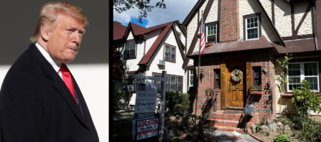 No one wants to make a deal for Donald Trump's childhood home