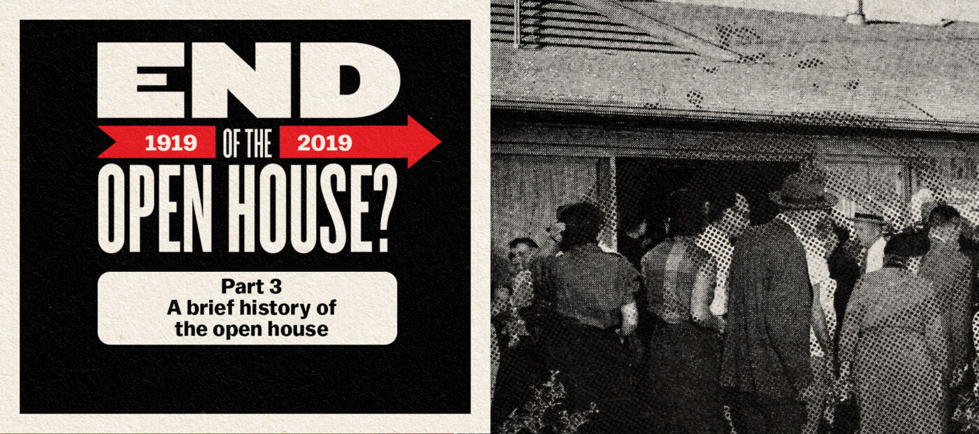 A brief history of the open house