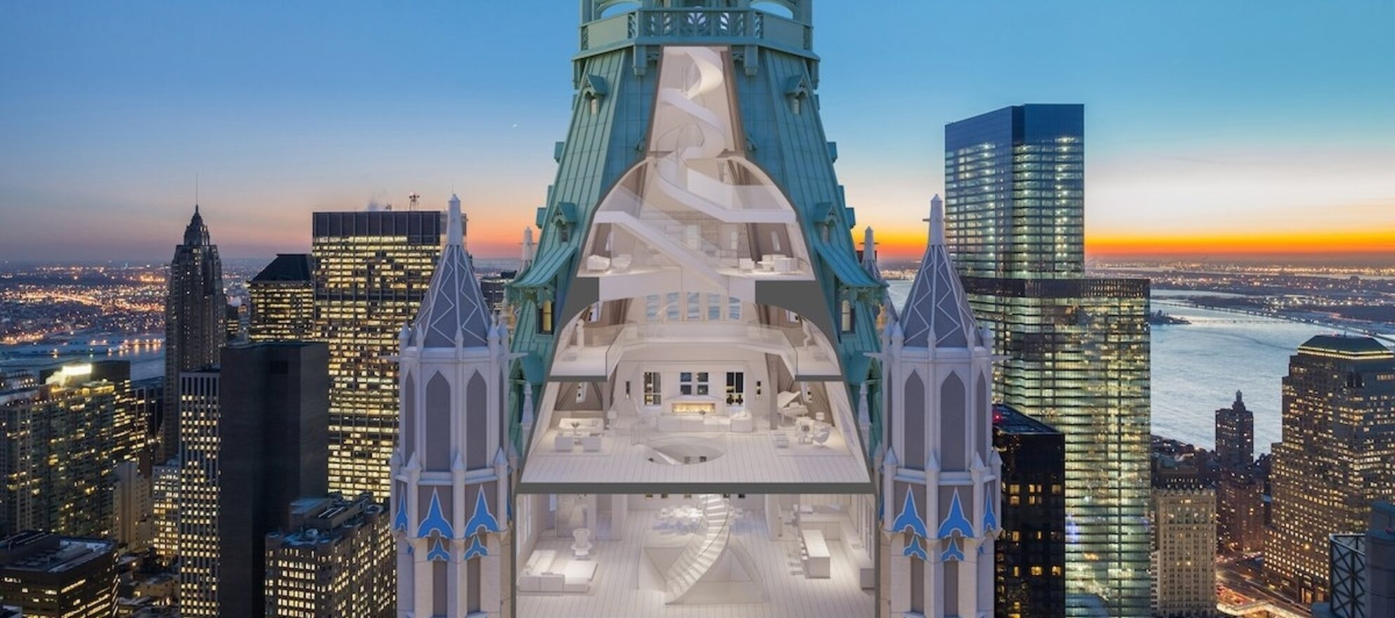 Woolworth penthouse for sale. Ordinary minds need not apply