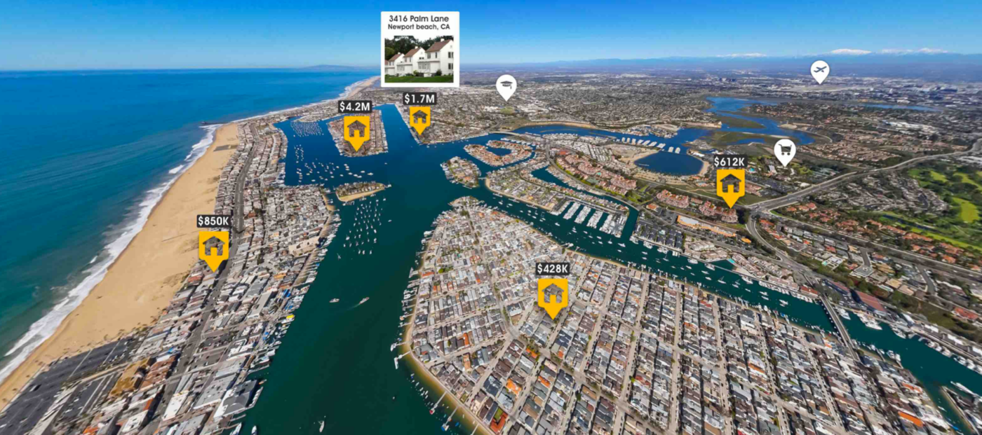 Tech startup AerialSphere launches 360-degree 3D lDX search