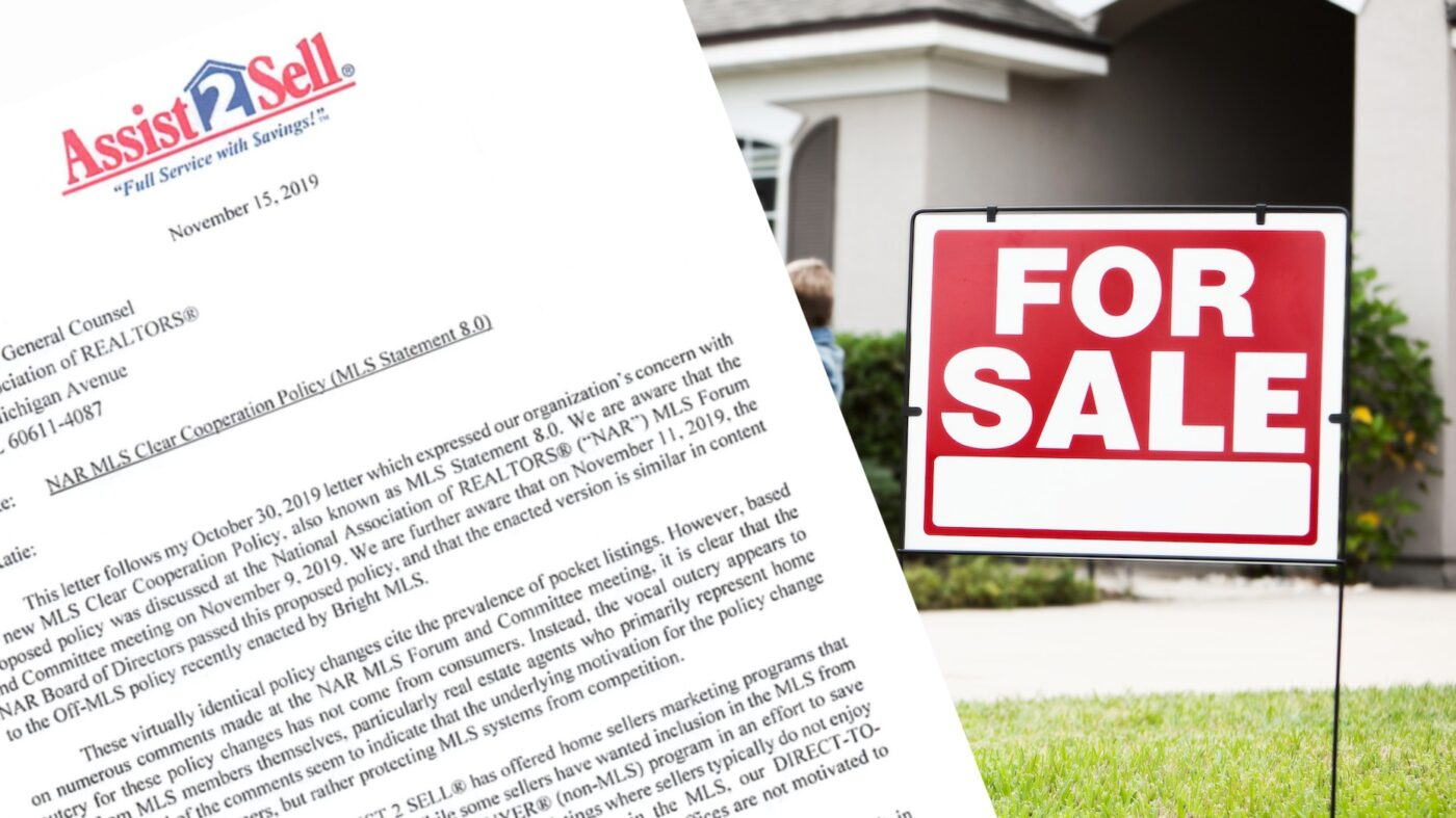 Assist-2-Sell 'shocked and dismayed' at NAR response to pocket listing concerns