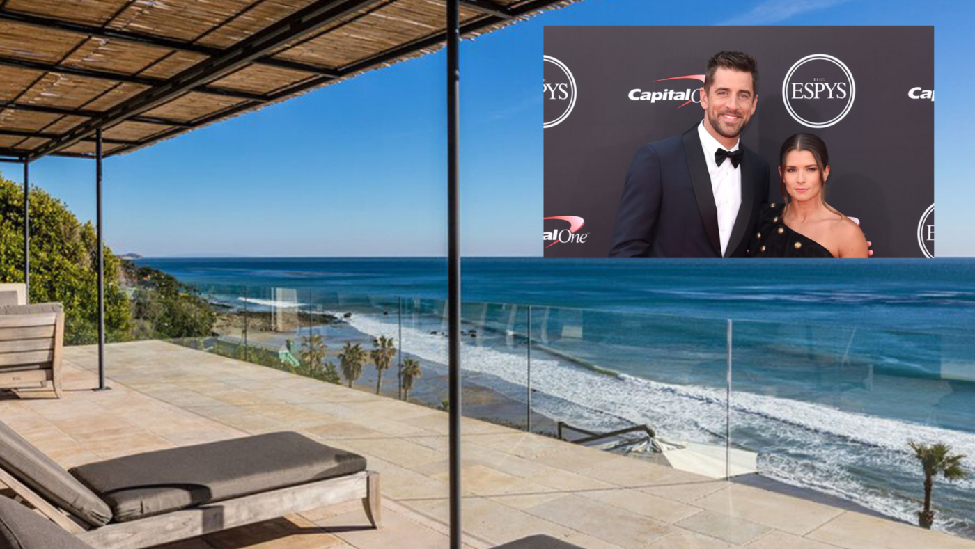 Aaron Rodgers and Danica Patrick buy Malibu estate for $28M