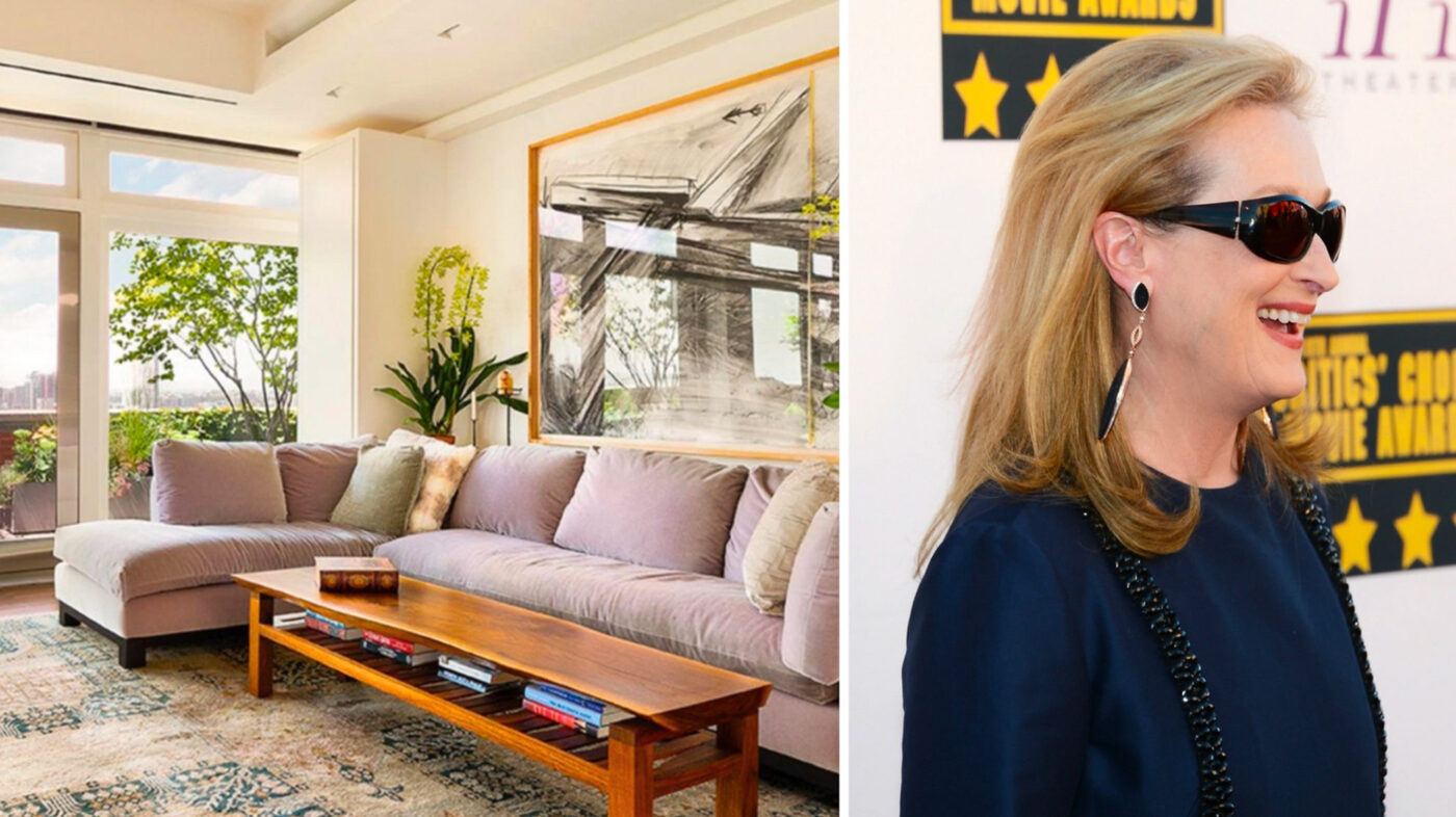 Meryl Streep sells Tribeca penthouse for $15.8M