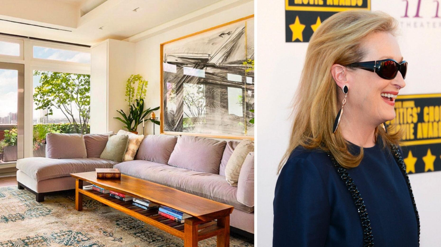 Meryl Streep sells Tribeca penthouse for $15.8M