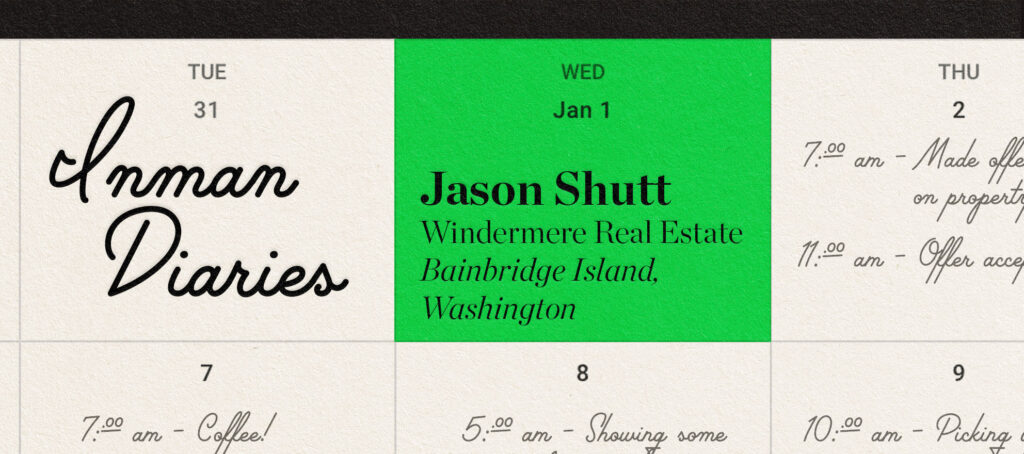The agent who knows every inch of his Pacific Northwest island market