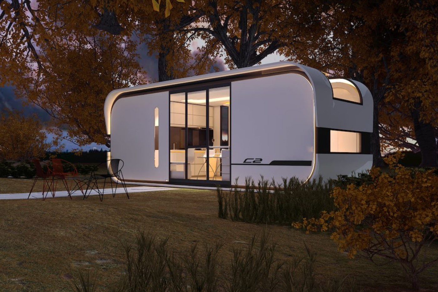 $19K pre-fab home includes artificial intelligence tech