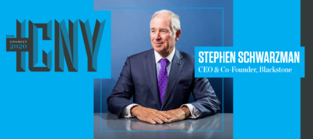 Billionaire Blackstone CEO Stephen Schwarzman is taking ICNY stage