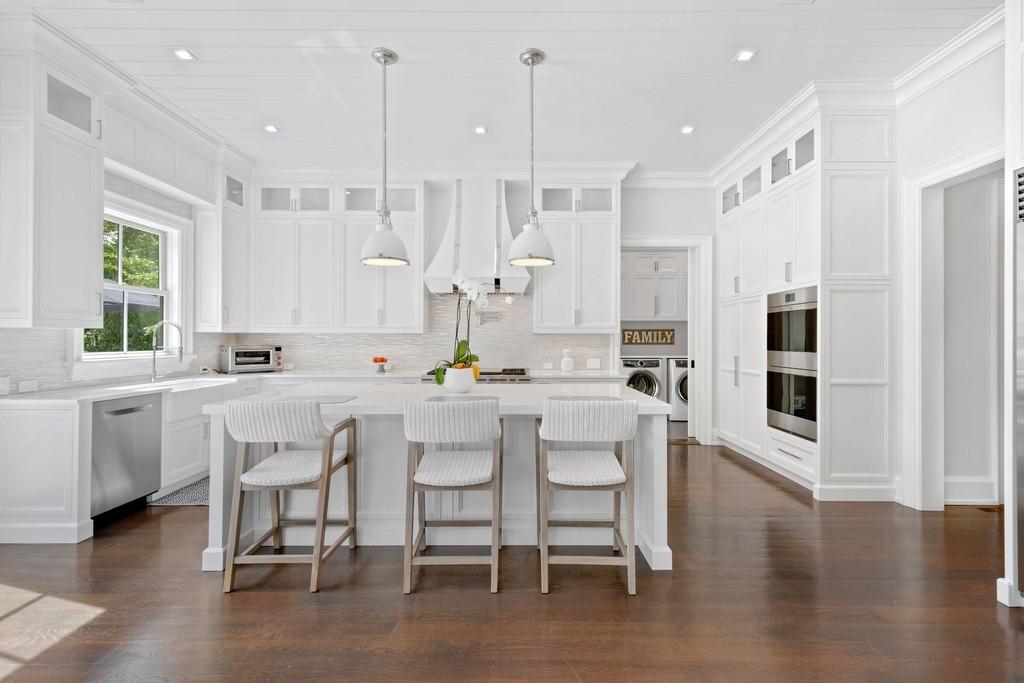 interior da cozinha de luxo