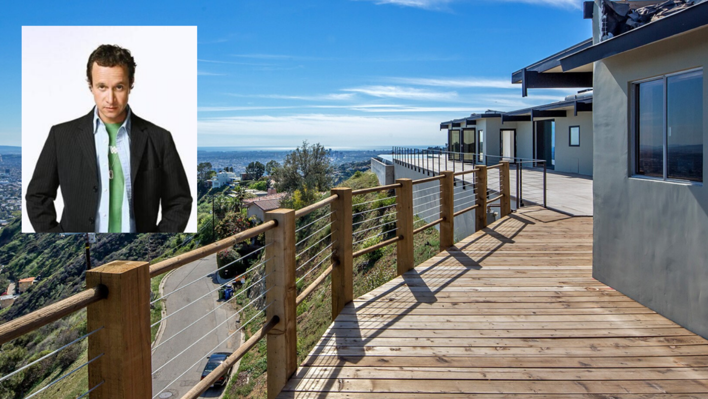'Bio-Dome' actor Pauly Shore wants $9.5M for Hollywood Hills home