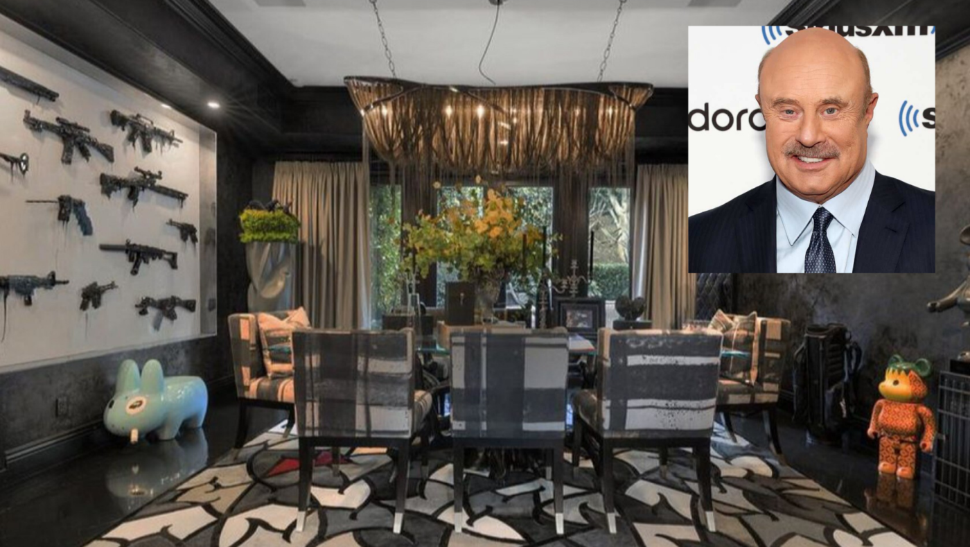 Twitter has a field day after Dr. Phil lists oddball LA home for $5.75M