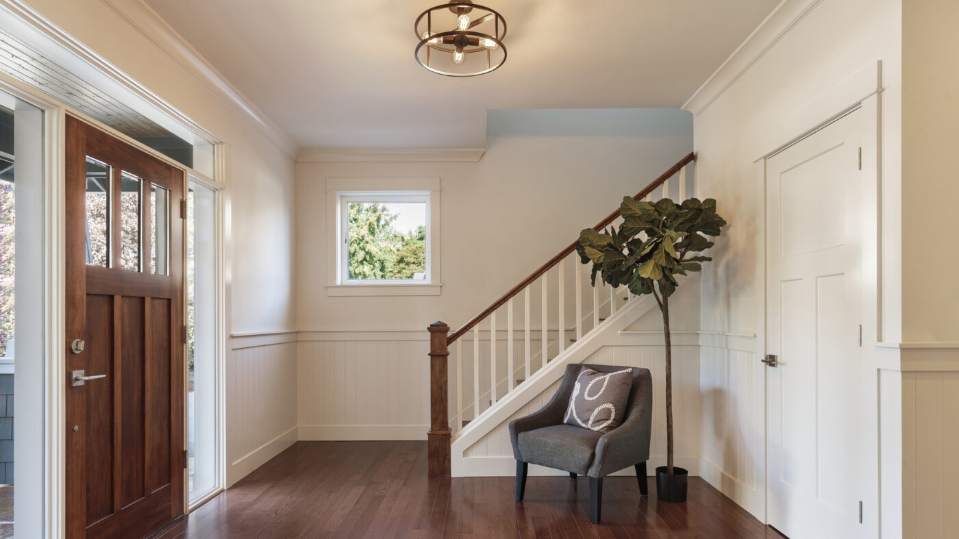 Setting up a house for a showing? Don't ignore the entryway