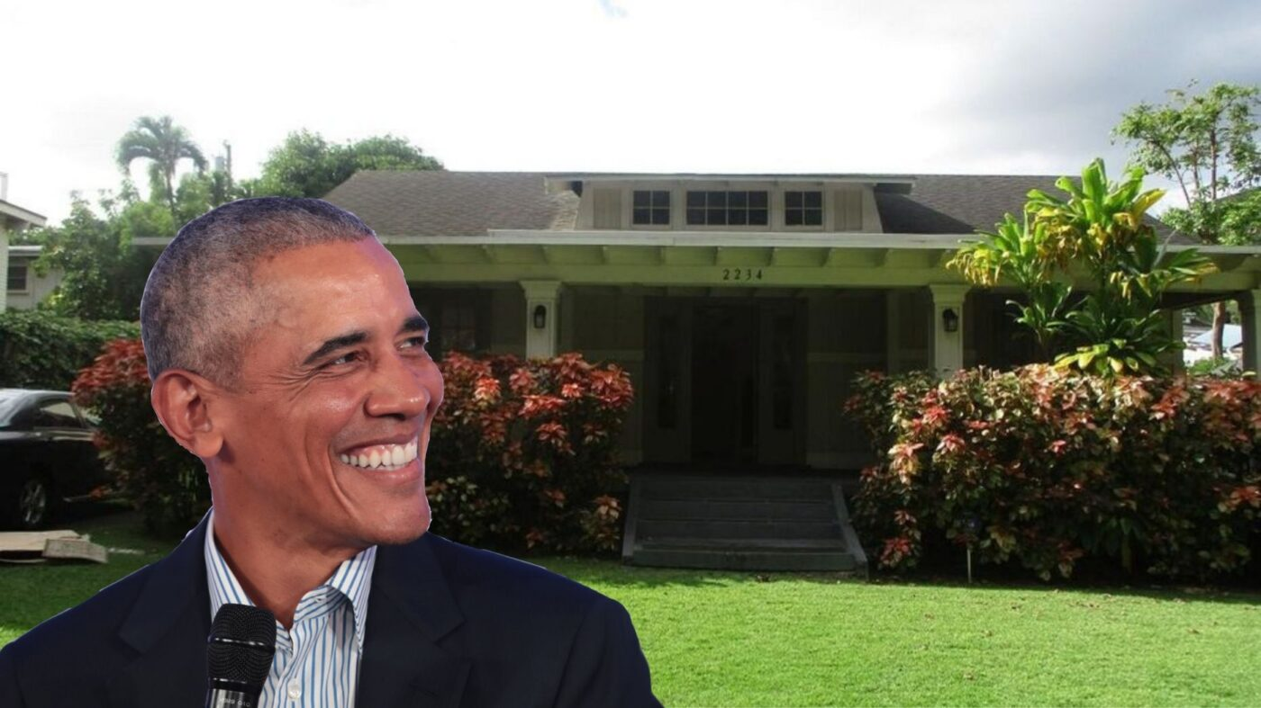 Barack Obama's Honolulu childhood home hits the market for $2.2M