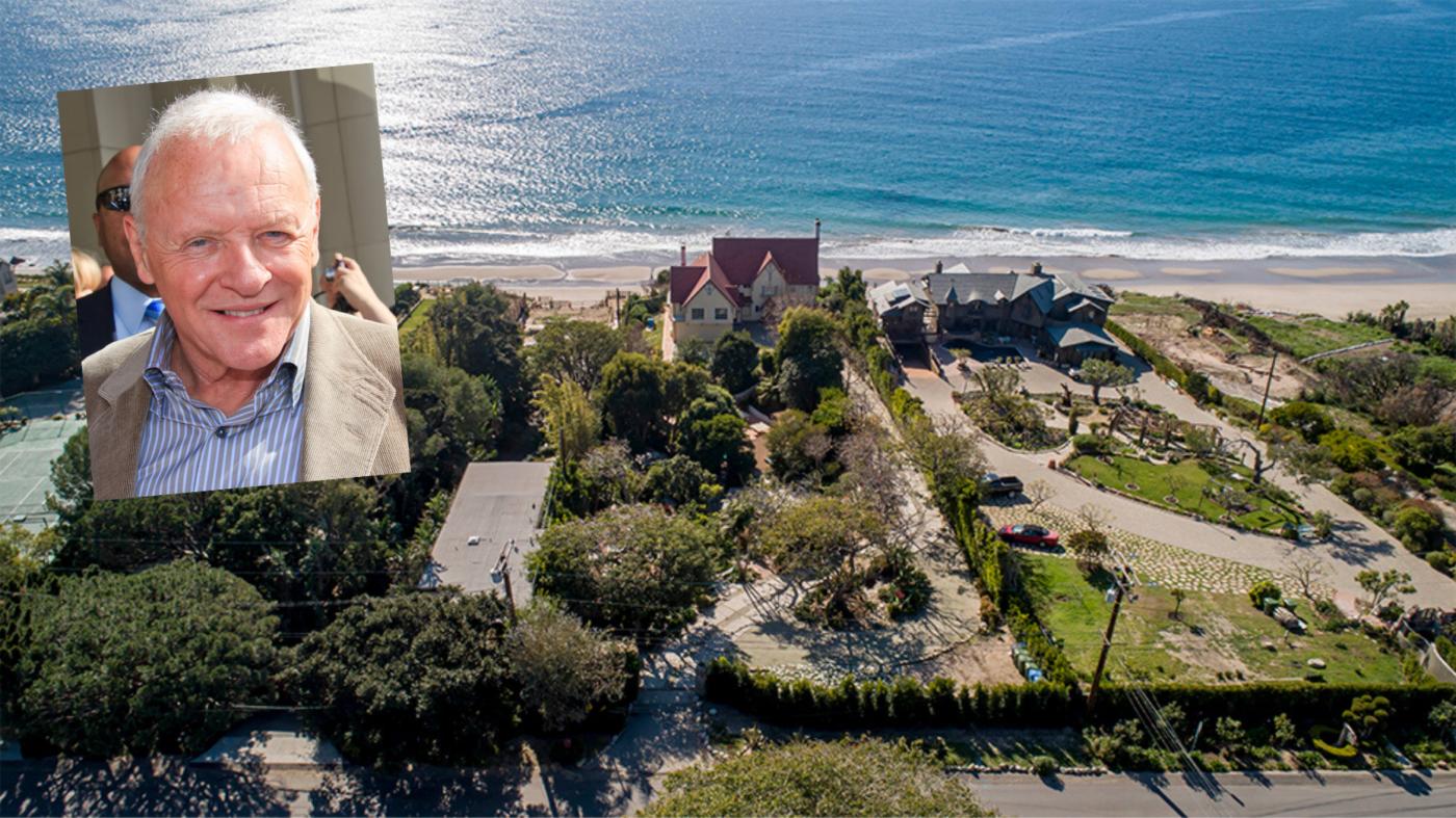 Anthony Hopkins lists Malibu home