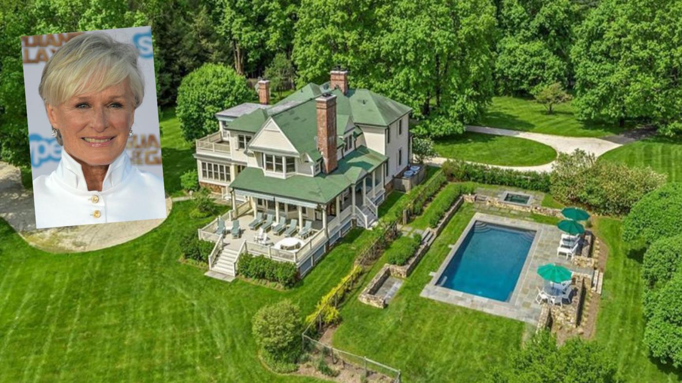 Glenn Close sells New York farmhouse for $2.75M
