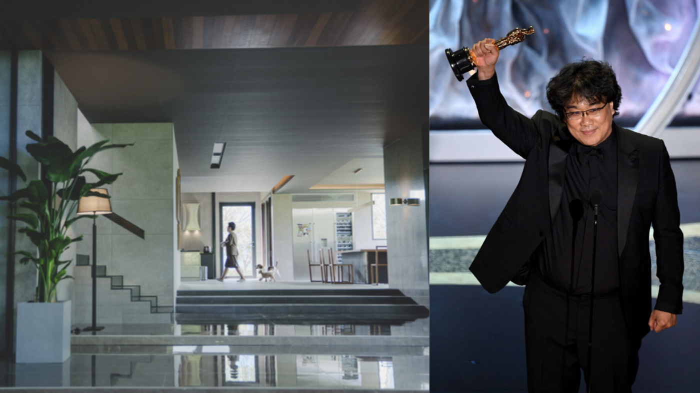 Check out the house built for the Oscar-winning movie 'Parasite'