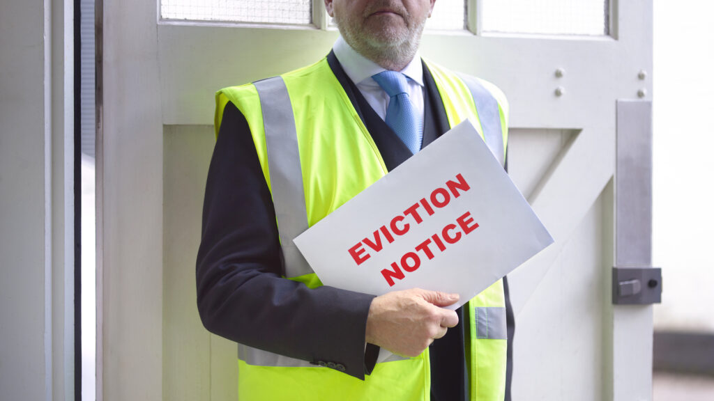 How to legally and ethically evict a bad tenant