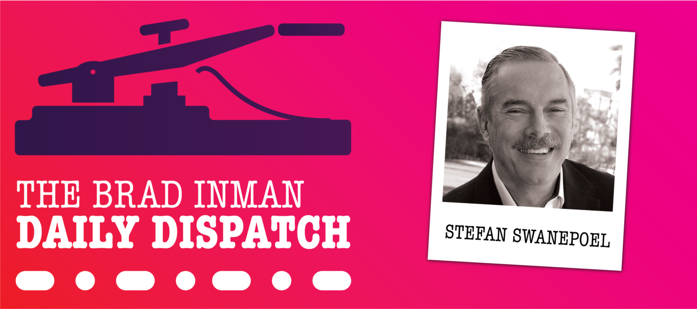 Daily Dispatch: Brad Inman and T3 Sixty CEO Stefan Swanepoel