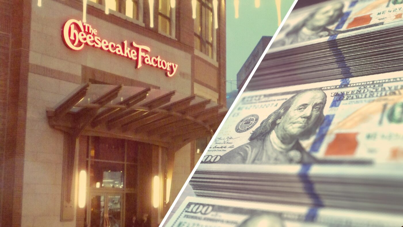Cheesecake Factory says no to rent at 294 locations. Socialists rejoice