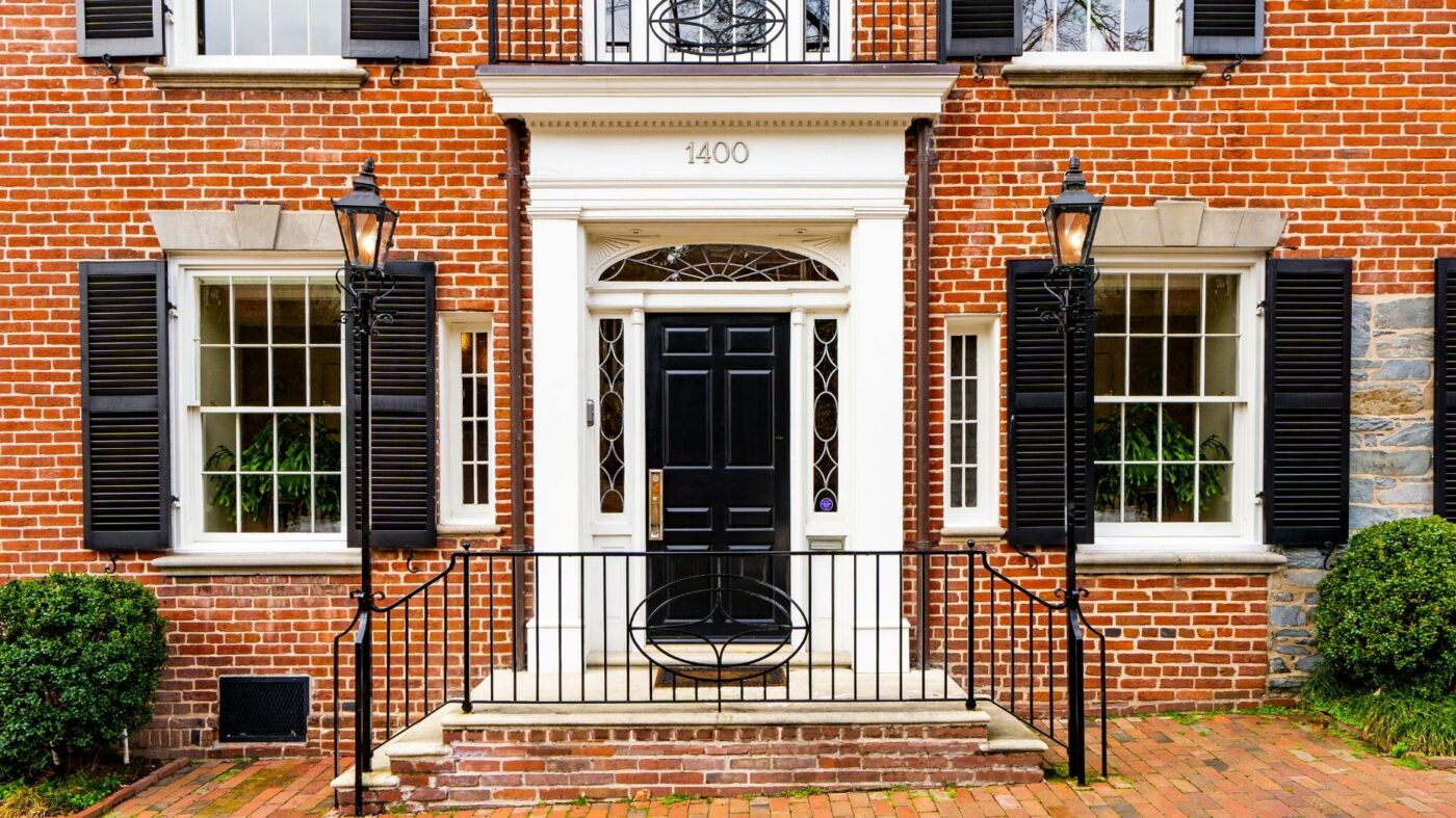 One-time DC home of JFK lists for $4.675M