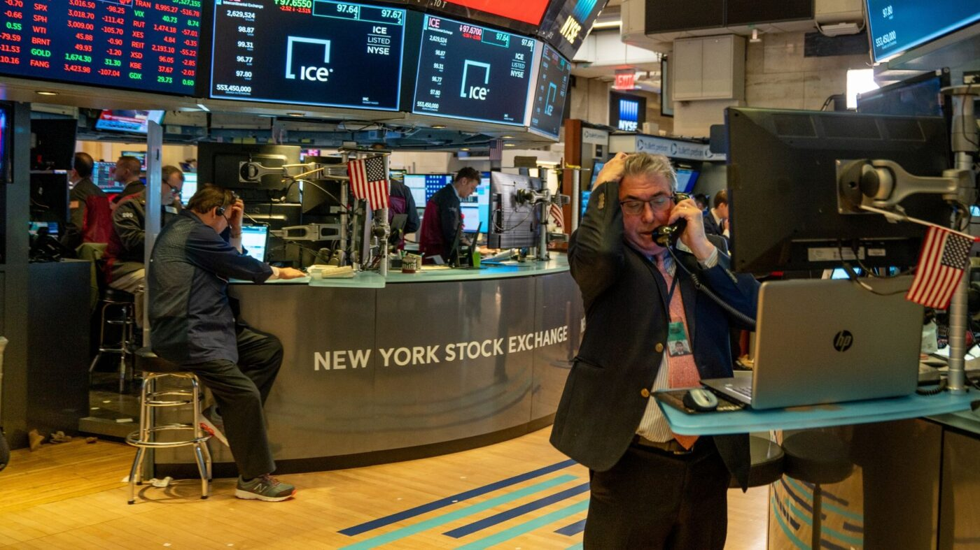 Stocks plunge in worst day since 1987 and second worst in US history