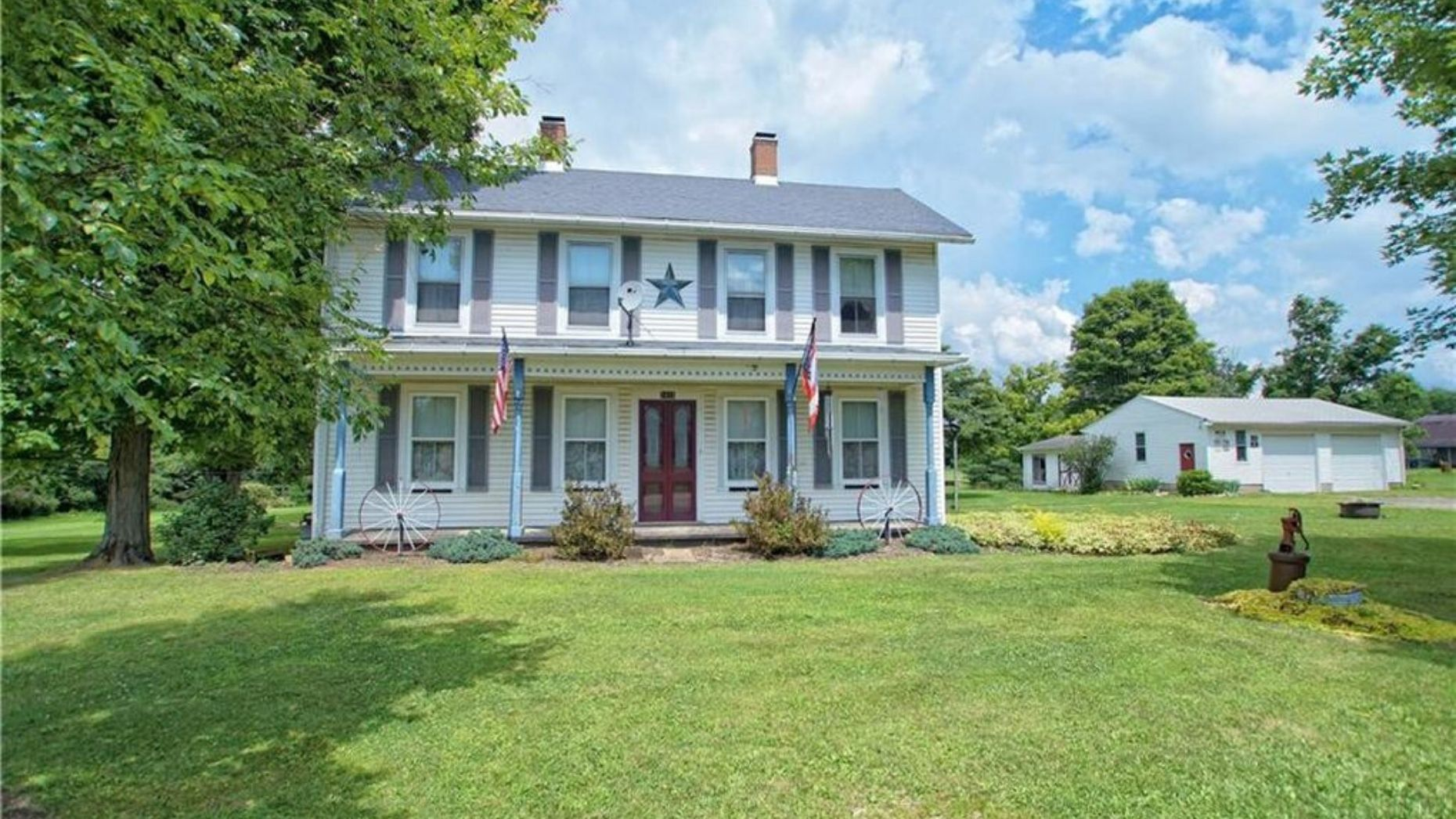A historic Ohio home on the market for $0 — if you can move it