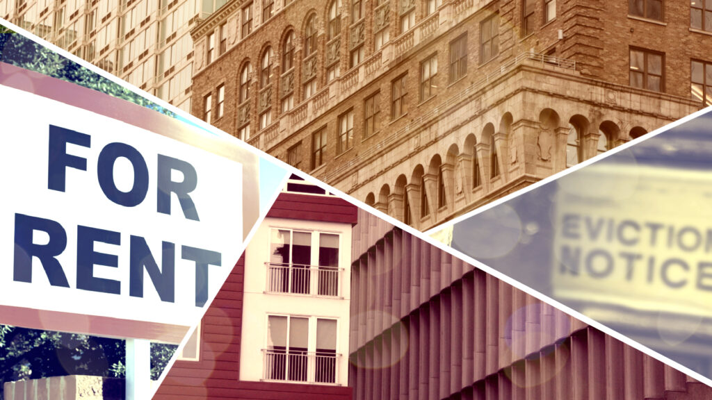 What should landlords do when tenants can't pay rent?