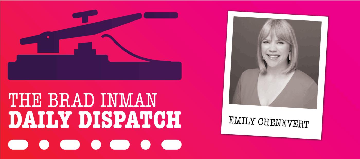 Daily Dispatch: Emily Chenevert extols virtual tours