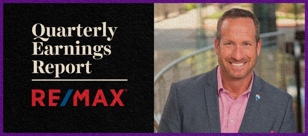 RE/MAX sees revenue and agent count inching upward in Q2