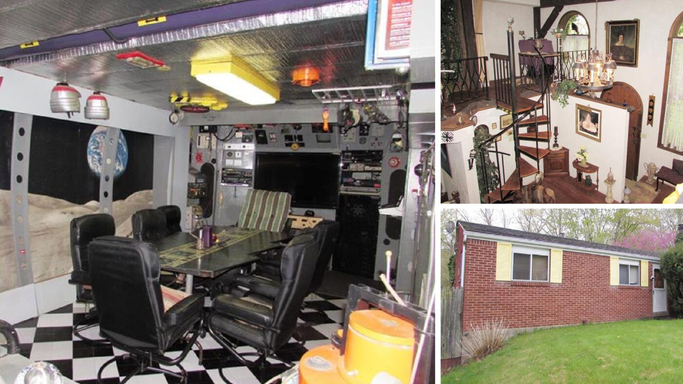 Bonkers Pittsburgh home has starship room, talking alien